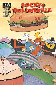 the rocky and bullwinkle show rocky and bullwinkle 4 the burger monster moving experience
