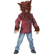 fun world werewolf boys u0027 halloween dress up role play costume m