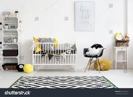 picture modern baby room designed scandi stock photo 391452901
