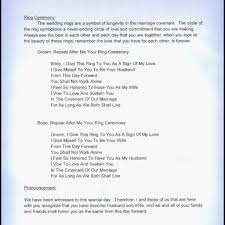 christian wedding ceremony program ideas wedding ceremony script non religious christian
