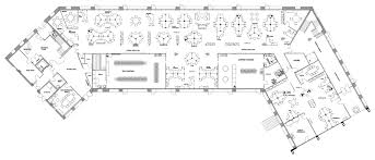 modern office plan ddb office advertising agency floor plan