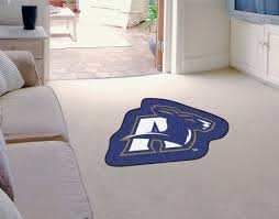 Shaped Area Rugs Of Akron Zips Mascot Area Rug