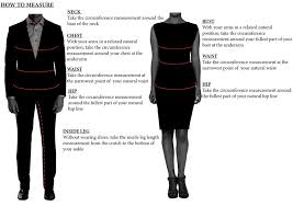 sizing guide oxford