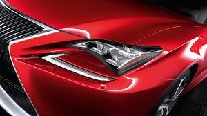 lexus cars red lexus rc sports coupé lexus uk