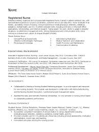 Resume Sample Nurses Experience by Download Sample Nurse Writing Task Docshare Tips