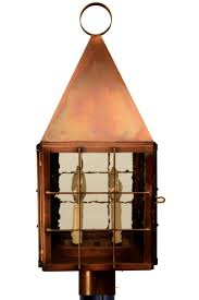 Williamsburg Sconces Colonial Williamsburg Copper Lantern Post Light Head