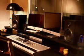 Studio Monitor Desk by Studios Kennedy Compound