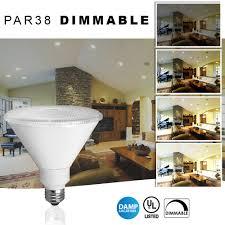 Bathroom Lighting Color Temperature Led Par38 Flood Light Warm White 19 Watt Dimmable Replaces 100w