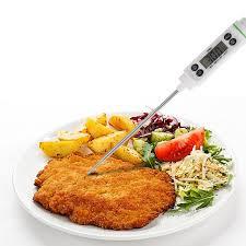 sonde de temperature cuisine numérique thermomètre cuisine four thermomètre alimentaire pyromètre