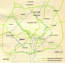 Jfk Map A Trip Within The Beltway Jfk Administration D C Freeway System