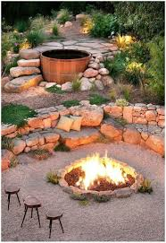 Diy Backyard Landscaping Design Ideas backyards charming 27 awesome diy firepit ideas for your yard