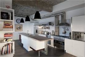 industrial style kitchen island kitchen decorating industrial kitchen flooring options