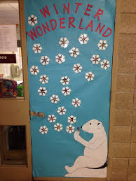 Winter Themed Door Decorations