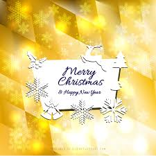 merry christmas and happy new year card background template