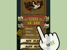 how to use the running glitch in temple run 5 steps