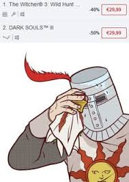 Dark Souls Meme - just found the new dark souls remastered already in stores