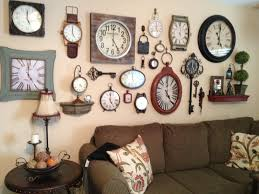 Small Decorative Wall Clocks Best 25 Wall Of Clocks Ideas On Pinterest Picture Wall Clocks