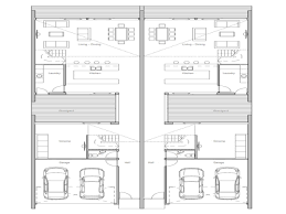 Duplex Plans For Narrow Lots Small Narrow House Plans Narrow Lot House Plan Small Lot House