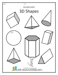 shapes coloring pages getcoloringpages com