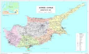 Map Of Oceania Maps Of Cyprus Detailed Map Of Cyprus In English Tourist Map