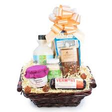 vermont gift baskets breakfast in bed basket cheese and wine traders cheese and