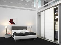 armoire chambre à coucher armoire 2 portes facade verre ref meubles