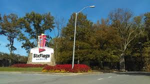 6 Flags Hours Photo Tr A Few Hours Six Flags America Theme Park Review