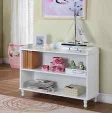 Low White Bookcase Small Bookcase Ebay