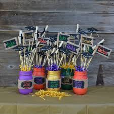 graduation center pieces graduation party centerpieces project by decoart