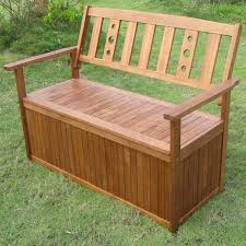 Plastic Outdoor Storage Bench Greenfingers Portland 2 Seater Storage Bench On Sale Fast