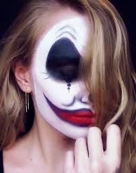 Halloween Makeup Clown Faces by Half Face Halloween Makeup Ideas Everyone Love To Try A Diy Projects