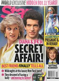 princess diana john f kennedy jr affair made up by tabloid