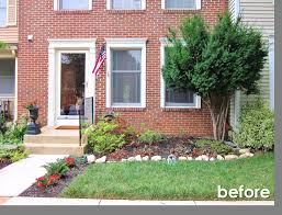 Townhouse Garden Ideas Small Front Yard Landscaping Ideas Townhouse Saomc Co