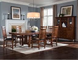 steinhafels oak park 7 pc dining set
