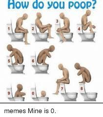 Pooping Memes - how do you poop memes mine is 0 meme on me me