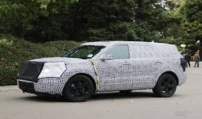 Ford Escape Generations - ford u0027s next gen explorer expected to grow spy photos show