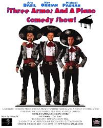 three armos and a piano comedy show tickets the main room