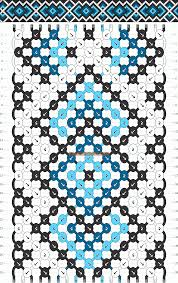 bracelet pattern images Normal friendship bracelet pattern 11003 gif