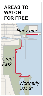 navy pier map if you go america s cup races at navy pier chicago tribune