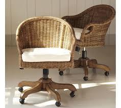 Antique Swivel Office Chair by Remarkable Wingate Rattan Swivel Desk Chair 40 In Ikea Desk Chair