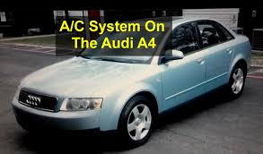 self service recharging the ac system 134a freon on the audi a4