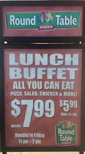 Round Table Lunch Buffet by Round Table Pizza Downey Firestone Blvd Home Downey
