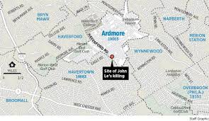 Media Pa Map Havertown Or Ardmore Why Town Boundaries Can Become Heated