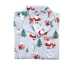 rudolph bumble flannel pajama pottery barn kids