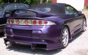 purple mitsubishi eclipse spyder yellowclone 1999 mitsubishi eclipsegs spyder convertible 2d u0027s
