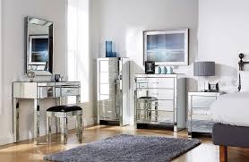Modern Gothic Home Decor Bedroom Design Mountrose Venetian Mirror Finish 2 Drawer