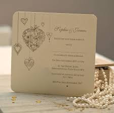 wedding invitations canada hearts personalised wedding invitations by beautiful day