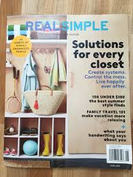 real simple magazine covers real maplewood s able baker julie pauly featured in real simple