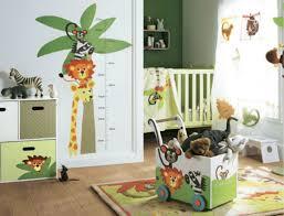 décoration chambre bébé jungle nursery nursery
