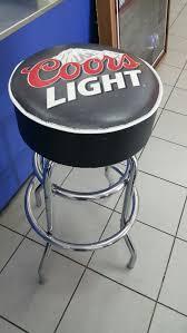 coors light bar stools sale coors light bar stool furniture in orlando fl
